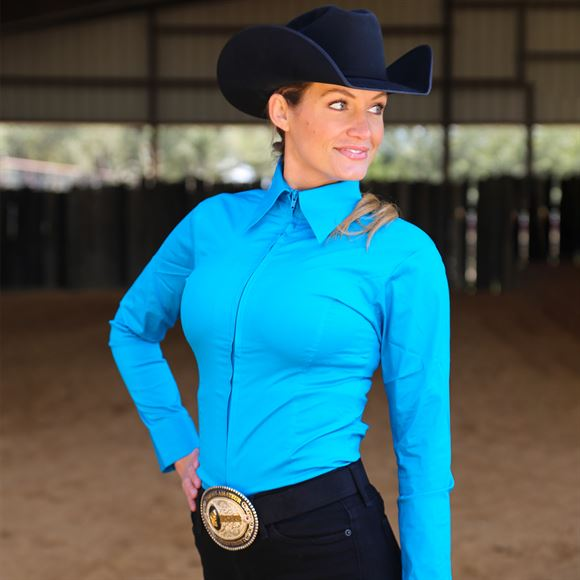 Cowgirl Royalty Ladies Western Show Shirt