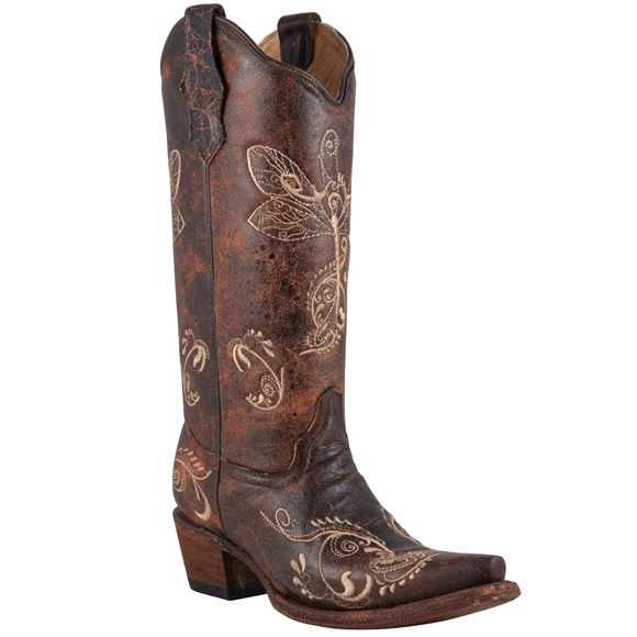 Corral Circle G Ladies Dragonfly Boot