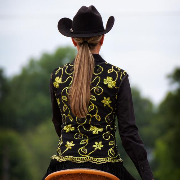 Cowgirl Royalty Ladies Lace Show Vest