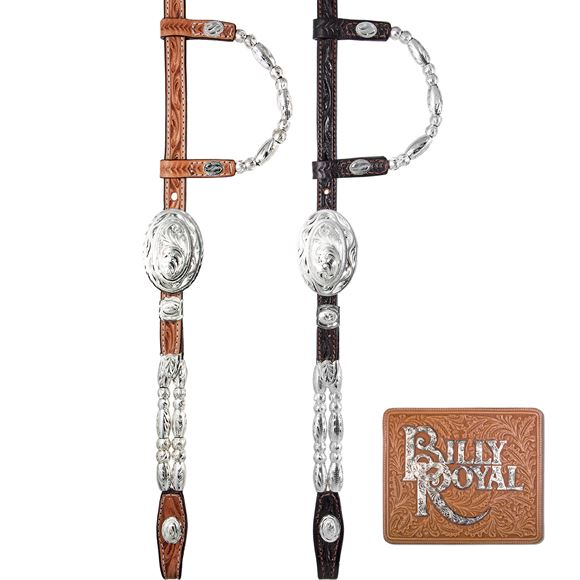 Billy Royal® Flagstaff Ferrule Two Ear Headstall