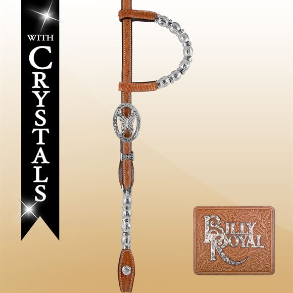 Billy Royal® Boise Butterfly Two Ear Headstall
