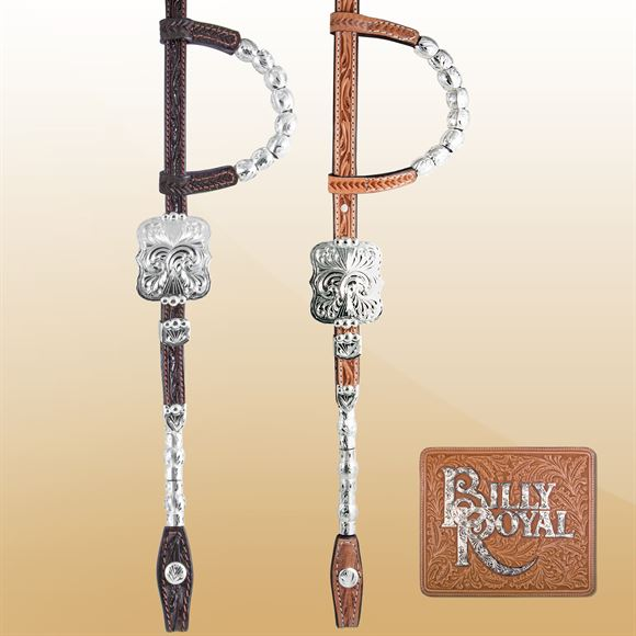 Billy Royal® Bismarck SP Showman Headstall