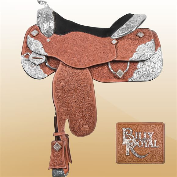 Billy Royal® Crystal Supreme Show Saddle