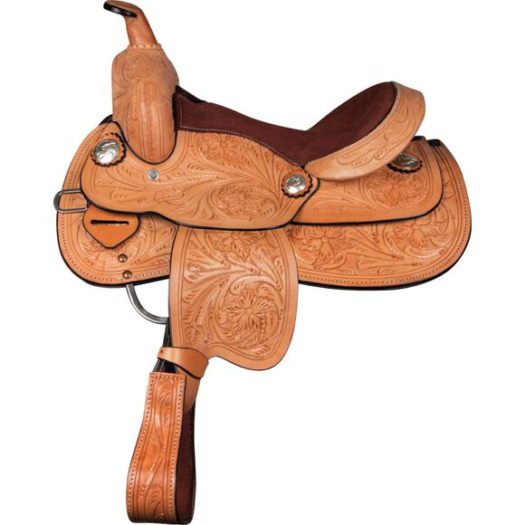 Double S Outlaw Youth Saddle