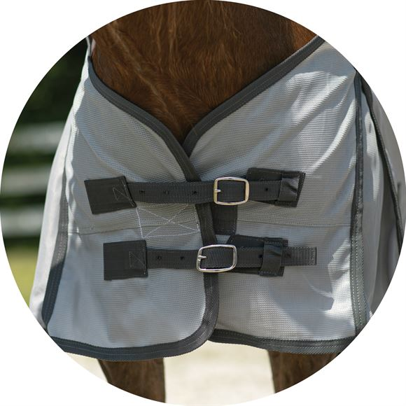 Front Buckles for Easy On and Off