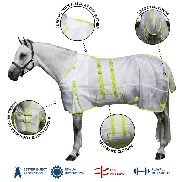 Dura-Tech® Ripstop Nylon Mesh Bellyband Fly Sheet