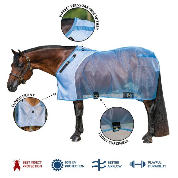 Mosquito Mesh Fitted V-Free® Stable Fly Sheet