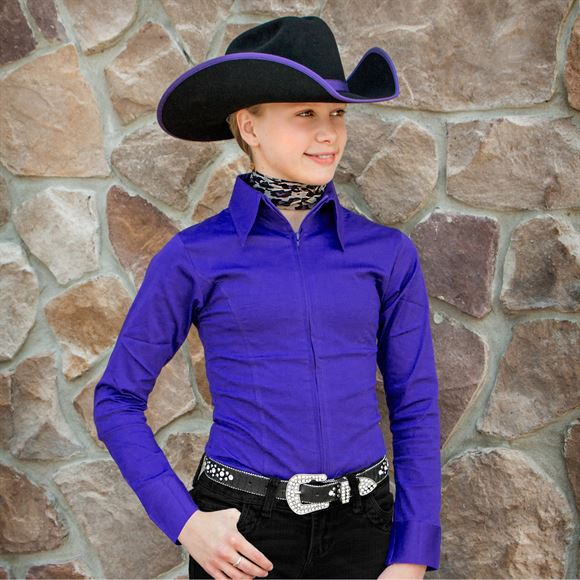 Cowgirl Royalty Girls Show Shirt