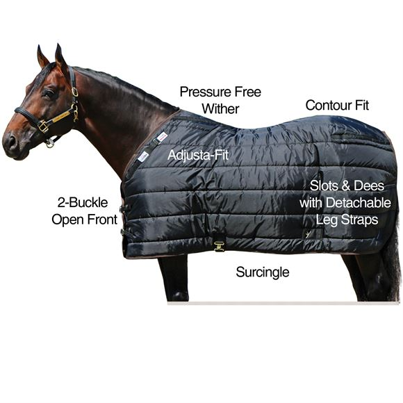 Adjusta-Fit® Dura-Nylon® VTEK® Blanket Liner / Stable Blanket - Lightweight