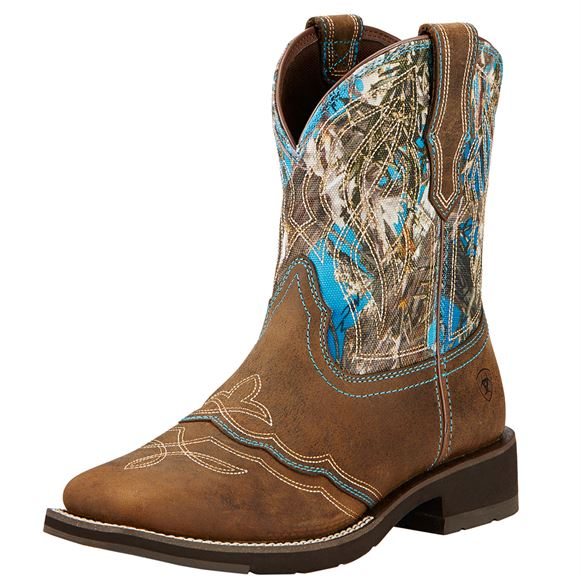 Ariat Ladies Distressed Ranchbaby II Boots