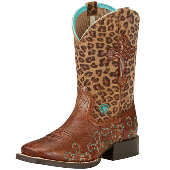 Ariat Kids/Youth Wood Crossroads Boots