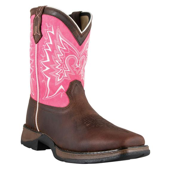 Durango® Youth Brown Let Love Fly Boots
