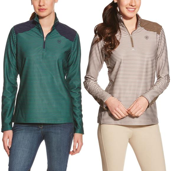 Ariat Ladies Lateral 1/4 Zip Fleece