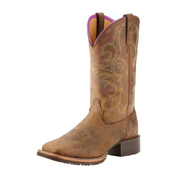 Ariat Ladies Distressed Hybrid Rancher Boots