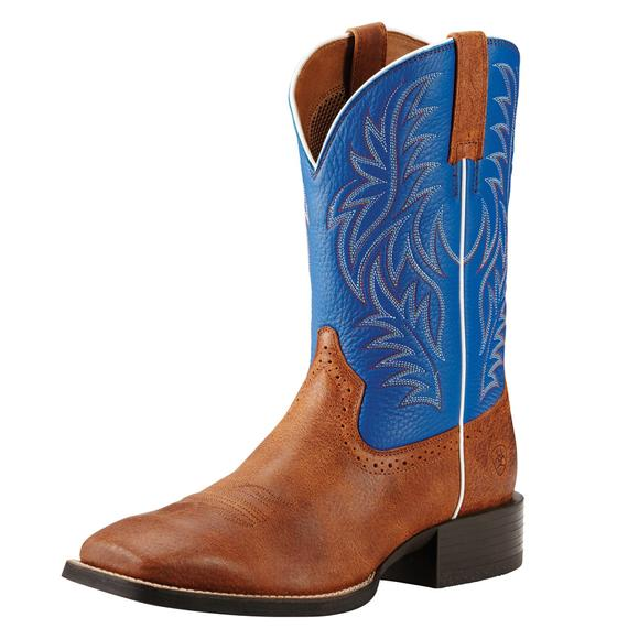 Ariat Mens Sport Red Angus Western Boots