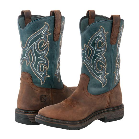 Noble Outfitters® Men's Smoke Blue Ranch Tough Boots