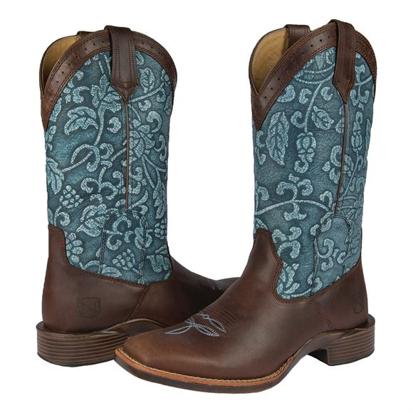 Noble Outfitters Ladies Floral Bark All Around Boots