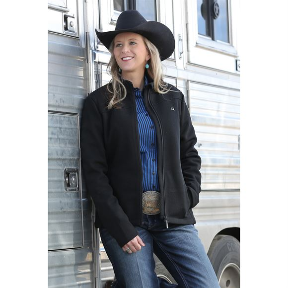 Cinch Ladies Full Zip Sweater Fleece Jacket
