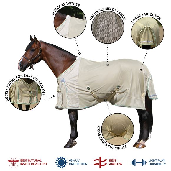NaturalShield® Euro Fit Fly Sheet