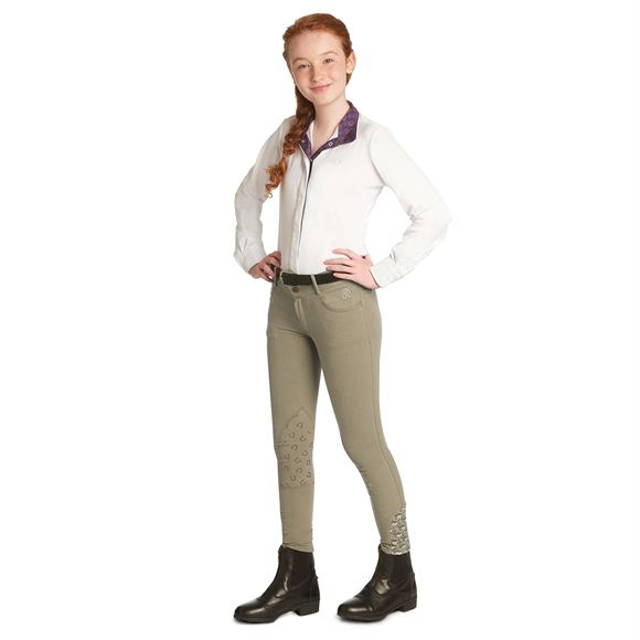 Ovation® Children's Candace Knee Patch Breeches