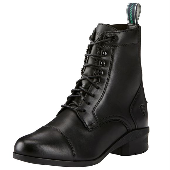 Ariat Ladies Heritage IV Lace Paddock Boots - Black
