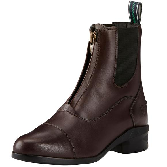 Ariat Ladies Heritage IV Zip Paddock Boots - Chocolate