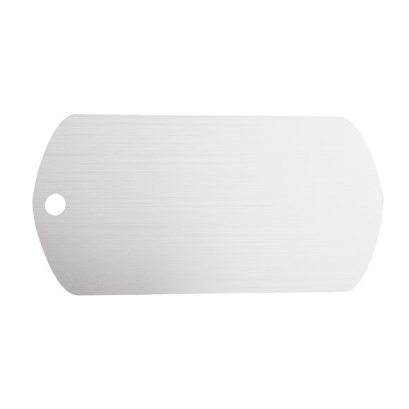 Personalized Plastic Rectangle ID Tagimage