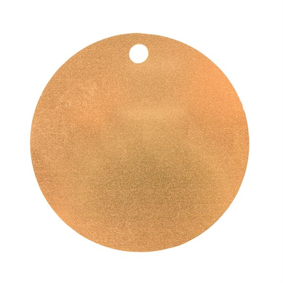 Personalized Plastic Round ID Tagimage