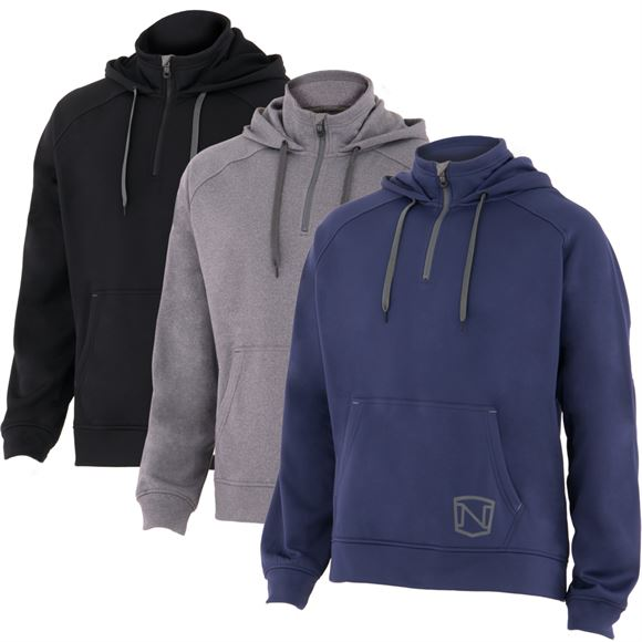 Noble Outfitters® Men's Warmwear 1/4 Zip Hoodie