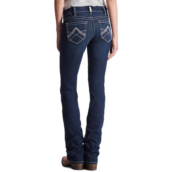 Ariat Ladies Real Straight Icon Jeans
