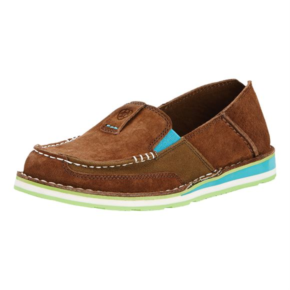 Ariat Ladies Cruiser Palm Brown Casual Shoes