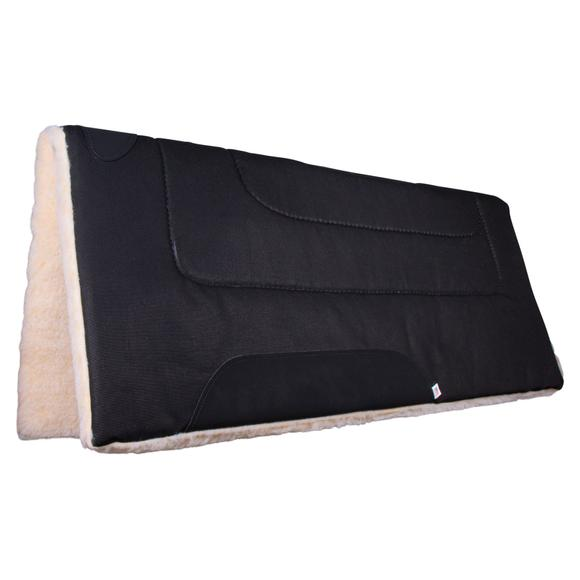 "Dura-Tech® Fleece Canvas Western Saddle Pad 33"" x 33"""