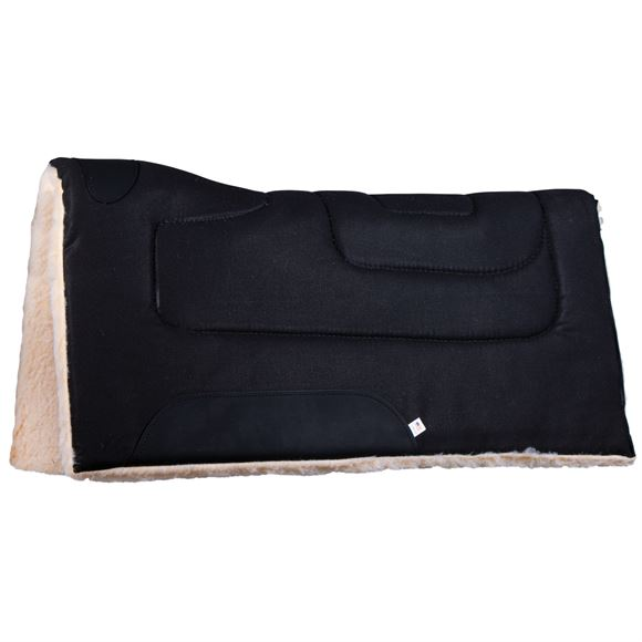 "Dura-Tech® Contour Fleece Canvas Western Saddle Pad 33"" x 33"""