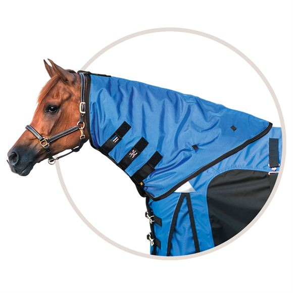 ARMORFlex® Warrior Cutback Fit Turnout Blanket Neck Cover