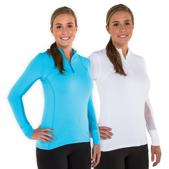 Noble Outfitters™ Lindsey Performance Long Sleeve Show Shirt