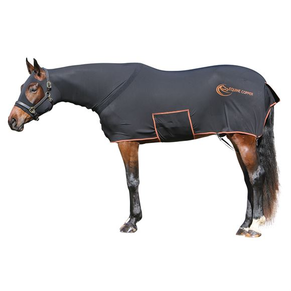 Equine Copper Full Body Bellyband Slicker