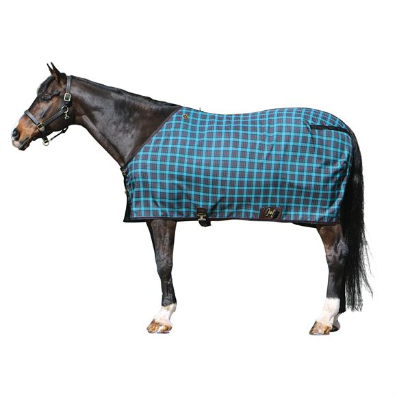 "Big ""D"" Plaid Stable Sheet"