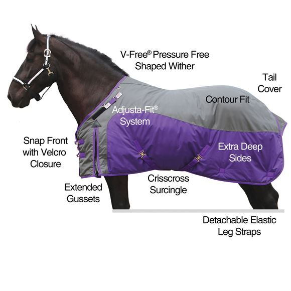 2017 StormShield® 1680D Big Fella Turnout Sheet