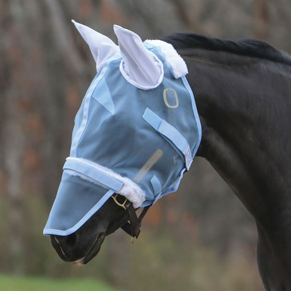 Mosquito Mesh Extendable Nose Fly Mask