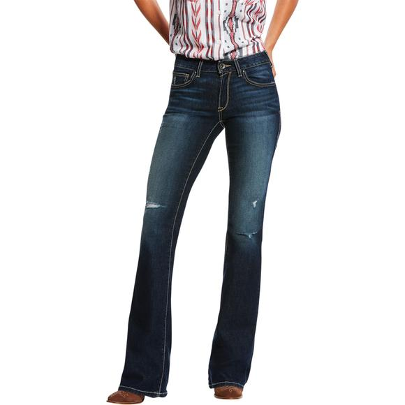 Ariat Ladies Ultra Stretch Bootcut Evening Jeans