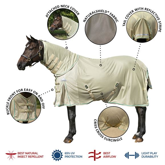 NaturalShield® Combo Surcingle Fly Sheet