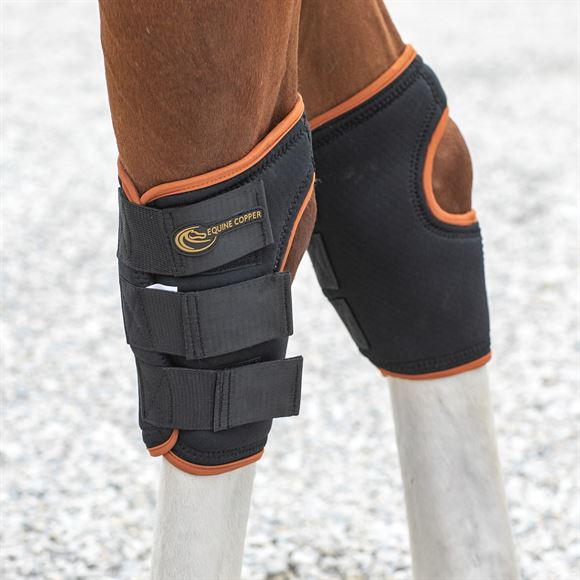 Equine Copper Hock Wraps