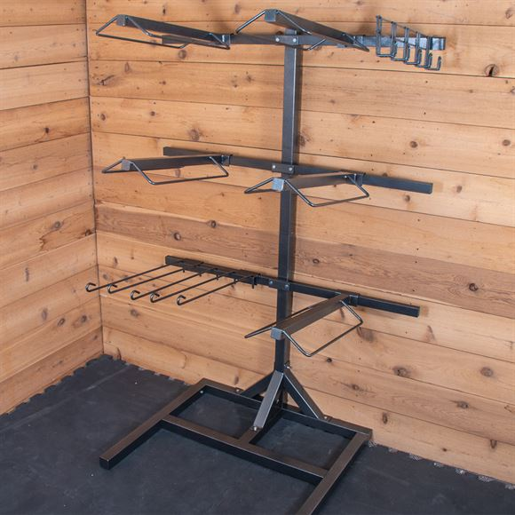 Easy-Up® Titan Interchangeable Saddle & Tack Stand with Custom Options