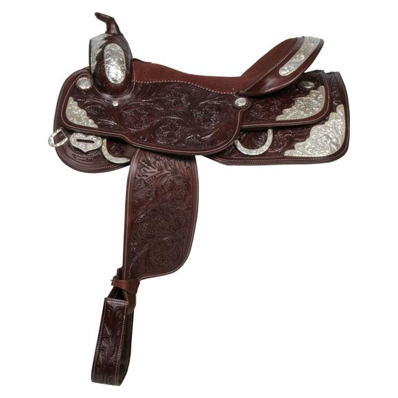 Double S Denver Youth Western Show Saddle