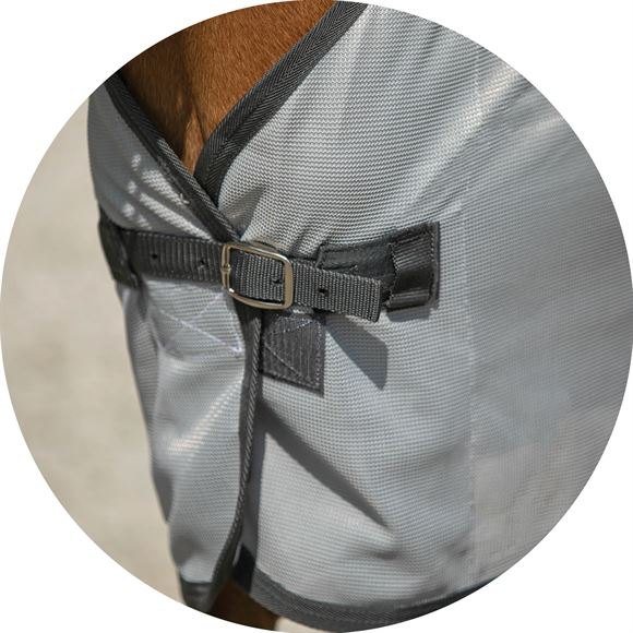 Front Buckle for Easy On and Off