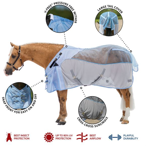 Mosquito Mesh Fitted V-Free® Hybrid Fly Sheet