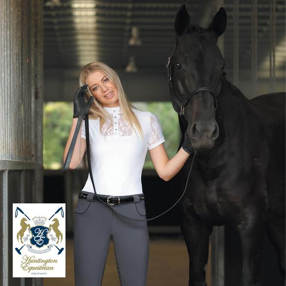 Huntington Equestrian® by Schneiders Colleen Kwik Dry Short Sleeve Show Shirt