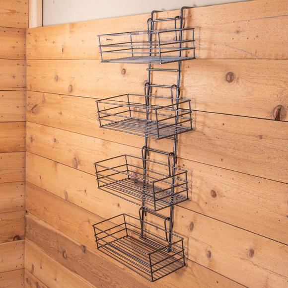 Easy-Up® Wide Basket Groom Room Rack