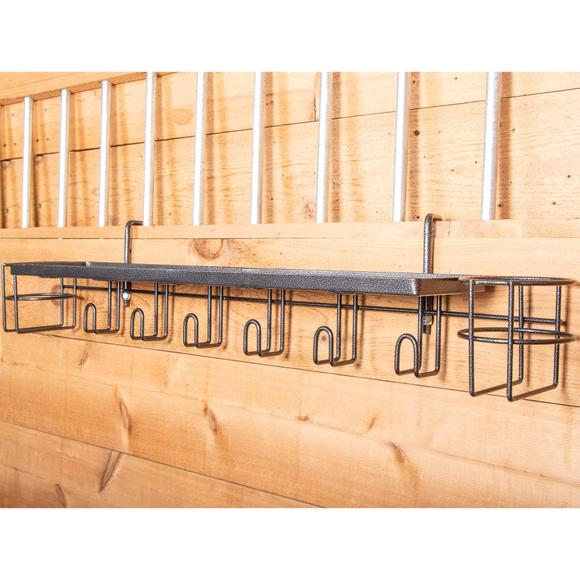 "Easy-Up® Pro 30"" Shelf with Bottle Holders and Tack Hangers"