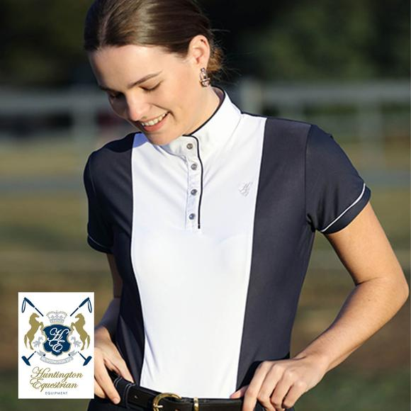 Huntington Equestrian® by Schneiders Hillary Kwik Dry Short Sleeve Show Shirt